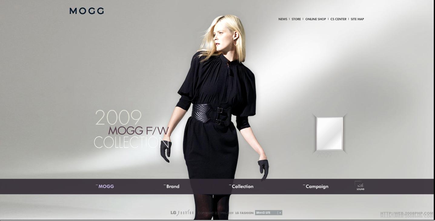 欧美mogg服装品牌模特