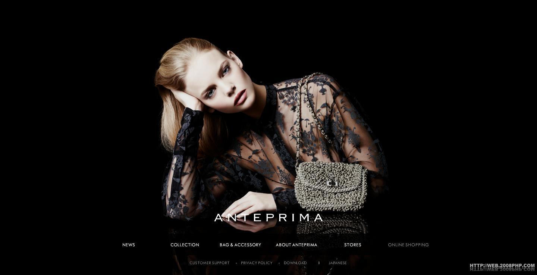 酷站网站截图---意大利anteprima时装品牌包包网站