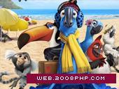 愤怒的小鸟!美国加拿大动画家庭冒险喜剧卡通片《里约大冒险Rio》宣传网站,卡洛斯・沙尔丹哈导演,影片讲述一只明尼苏达州小镇上的金刚鹦鹉,一直认为自己是世界上仅存的一只金刚鹦鹉。一天他得知里约热内卢还有另外一只金刚鹦鹉,并且还是一只雌性金刚鹦鹉,他便决定离开家乡,前往巴西的里约热内卢。冒险就这么开始了……