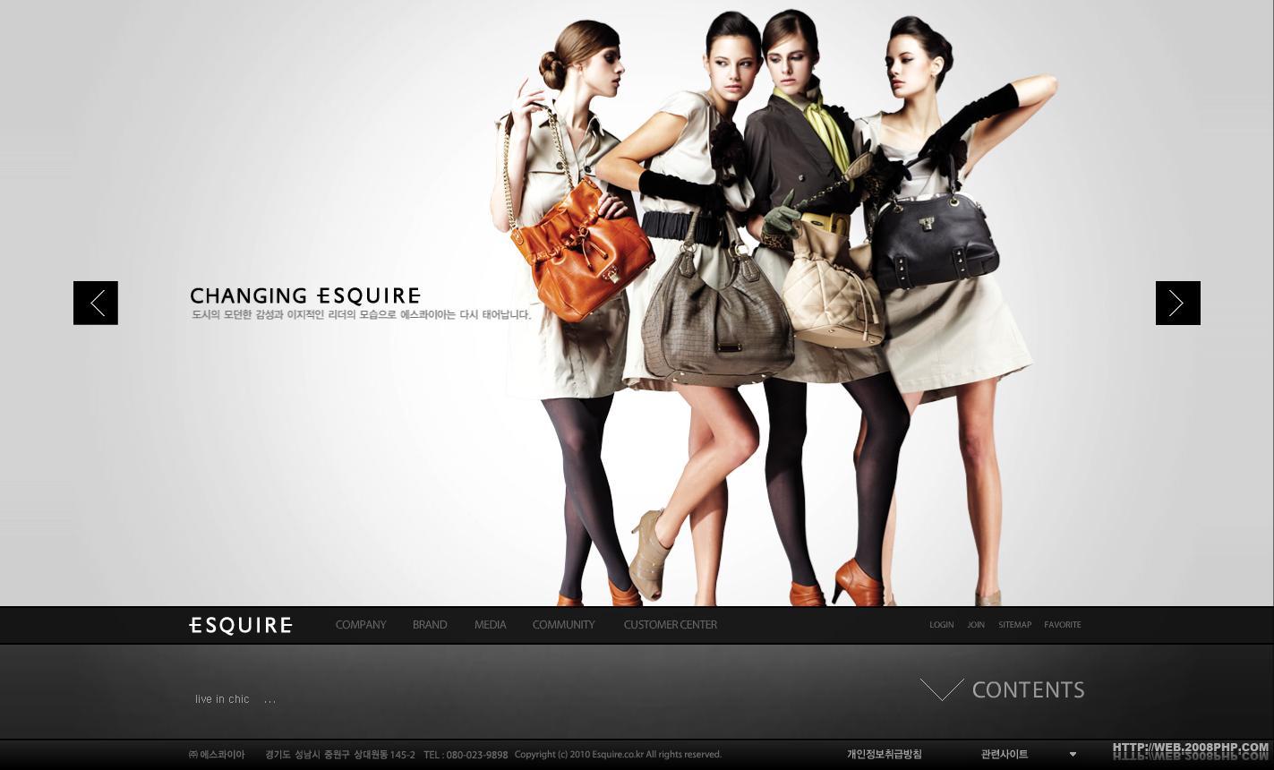 时尚衣服_韩国esquire时尚服饰服装网站时装