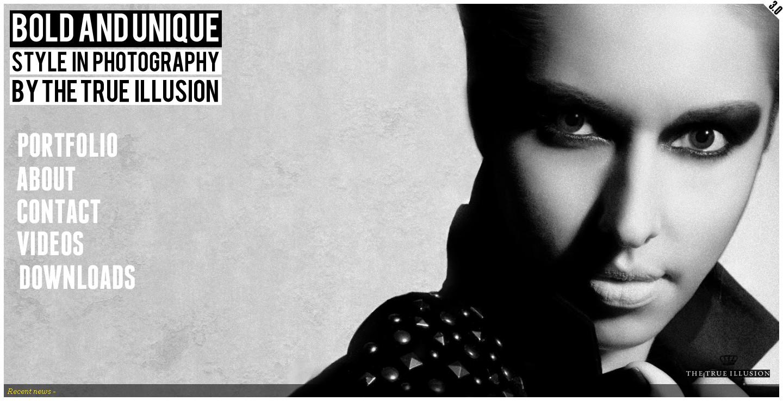 欧美thetrueillusion商业视频摄影工作室网站酷站
