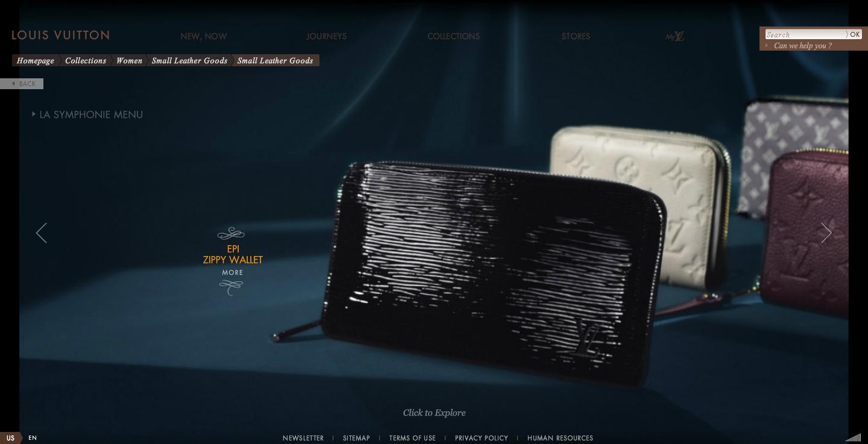 〓 酷站网站截图-Louis Vuitton路易威登高级奢