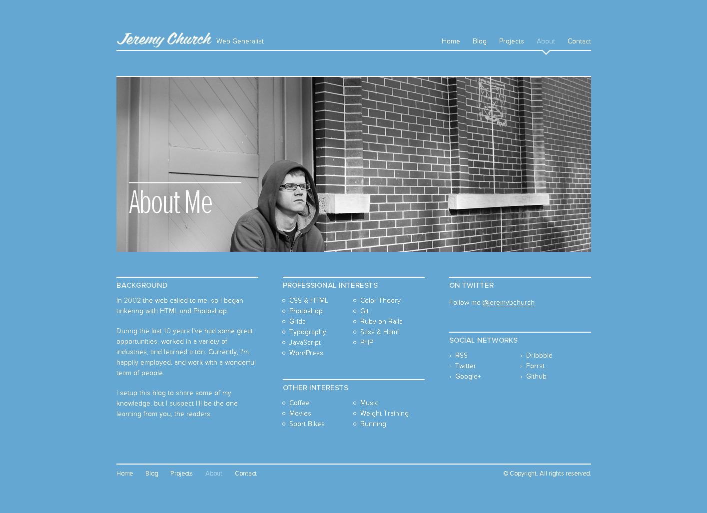 优秀个人网页; eremy网页设计师个人网站!图片