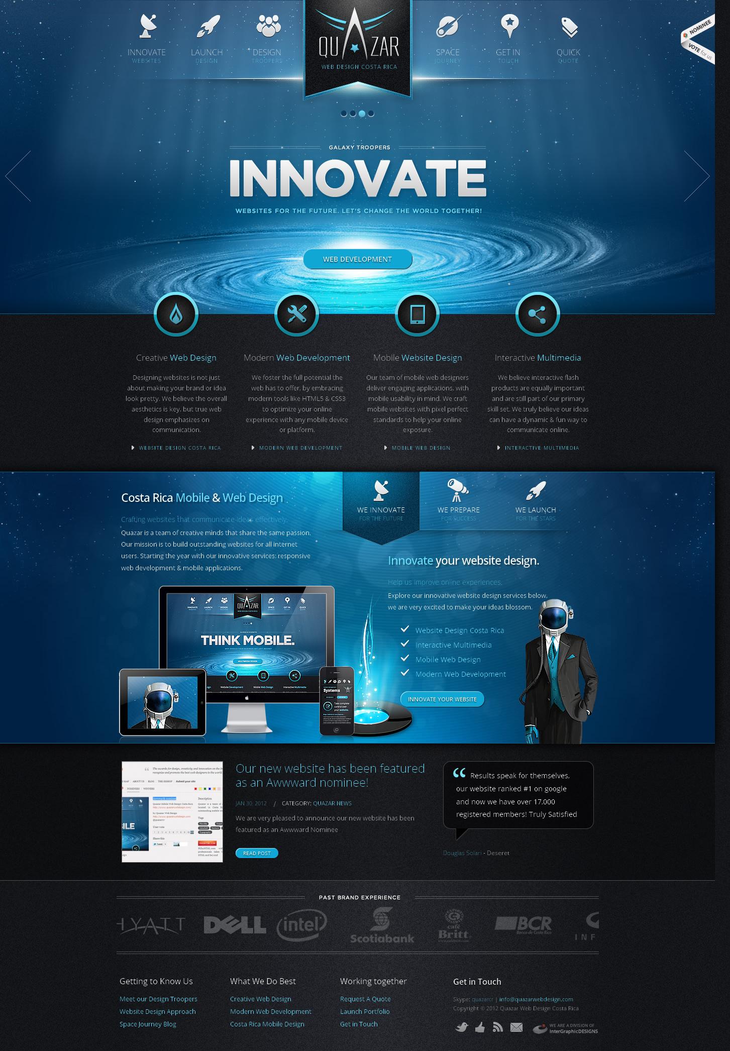 哥斯达黎加移动网页设计及网站开发公司!