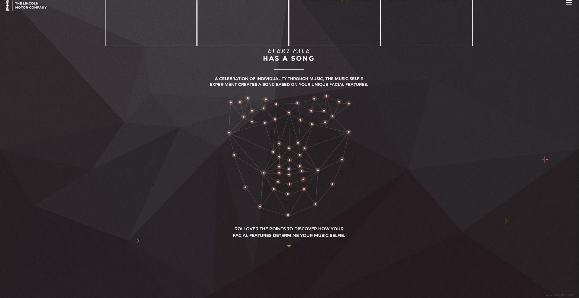 很有設計感的線條幾何圖形排版