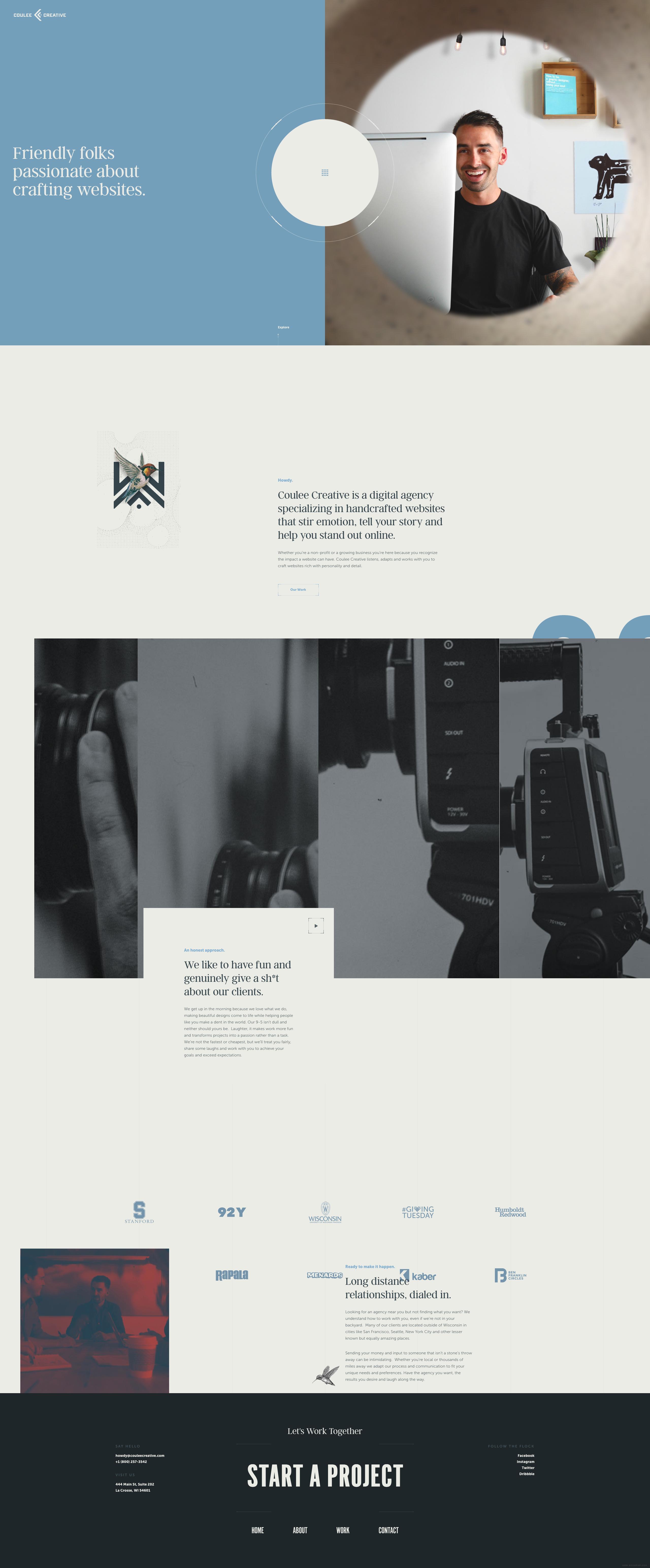 公司成立于2006,是个狡猾的设计师团队,开发人员,文案和战略家遍布图片