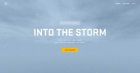 陷入风暴雪的美国空军!
