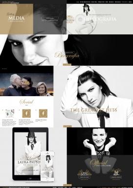 意大利Laura Pausini劳拉西妮歌手音乐家酷站!Laura Pausini(16/5/1974)是一位意大利的歌手和音乐家。 在1993年,她成功夺得Sanremo音乐节的最佳新人奖,一炮打红。从此,意大利的人民们就牢牢记住了Laura Pausini这个未来歌后的名字。 在她的音乐生涯内,她用意大利语、西班牙语、葡萄牙语、英语和法语来演绎她的音乐。 她是意大利最受欢迎的歌手之一,也是现时世界上最流行的拉丁女歌手,尤其是在欧洲和拉丁美洲。 在她16年的音乐路途上,她创下了世界范围5000万张的专辑销售量。