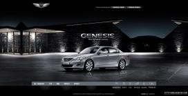韩国现代劳恩斯GENESIS汽车网站
