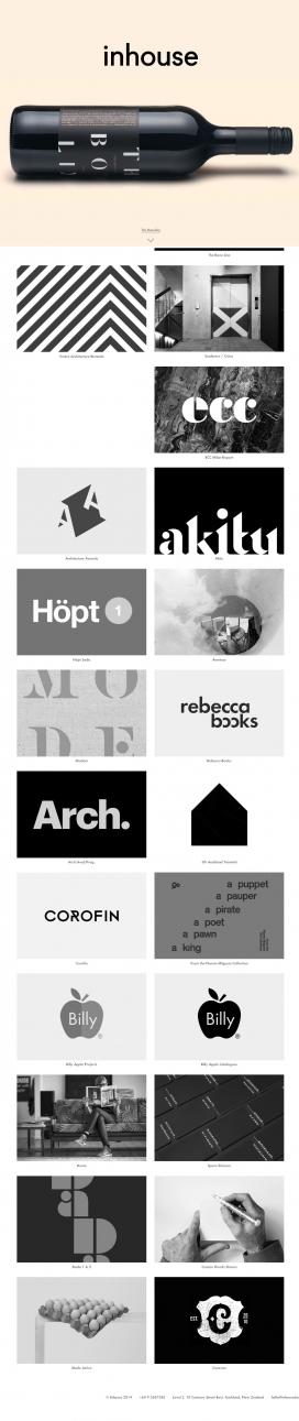 新西兰奥克兰Inhouse平面设计广告机构酷站!