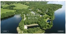 芬兰人湖!一个僻静的北爱尔兰豪华度假胜地。