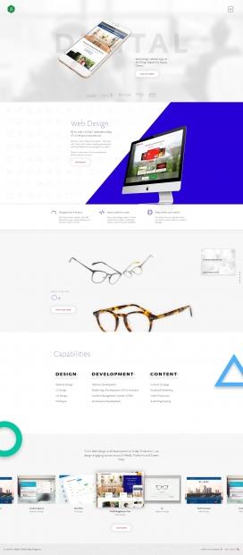 新加坡Fixx Digital网页设计机构酷站!很漂亮的交叉悬浮特效。