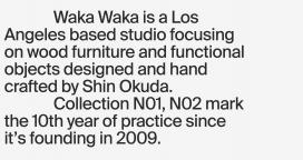 美国洛杉矶Waka Waka手工制作木制家具!