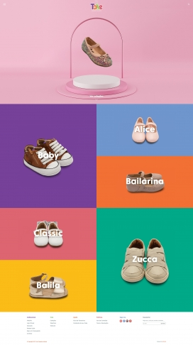巴西Toke托克-儿童鞋!