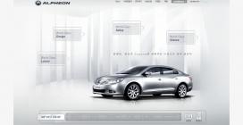 韩国GM大宇新款Alpheon汽车网站