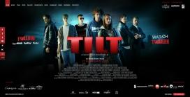 保加利亚电影TILT宣传网站。